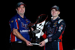 Campeón 2017 William Byron, JR Motorsports Chevrolet, jefe de equipo David Elenz