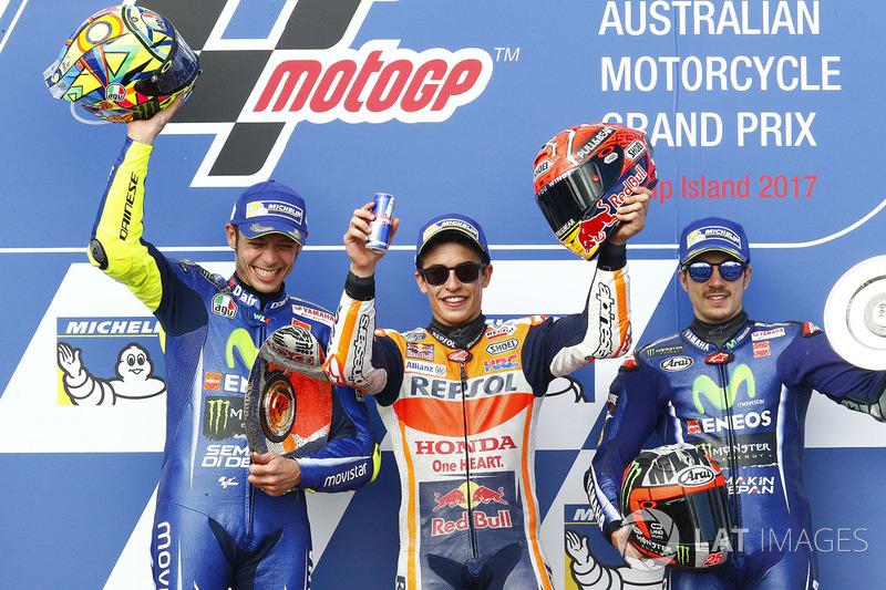 O sempre emocionante GP da Austrália teve 27 voltas cheias de disputa em 2017. Melhor para Marc Márquez, que venceu e agora tem uma diferença de 33 pontos para Dovizioso no mundial. O 93 pode ser campeão já na próxima etapa.