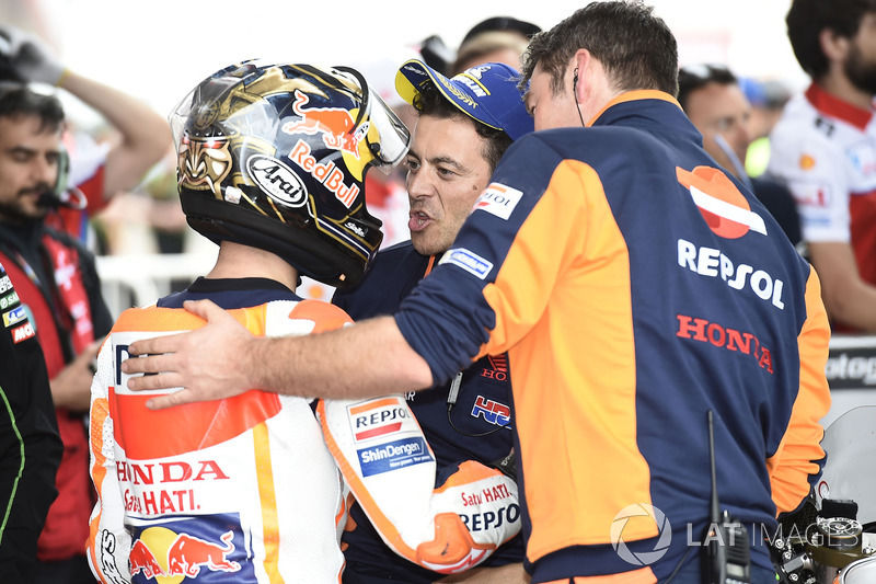 Dani Pedrosa, Repsol Honda Team, Honda team