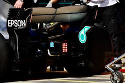 Mercedes-AMG F1 W09 rear wing lights
