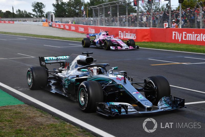5. GP Spanyol - Pemenang: Lewis Hamilton