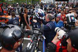 LMP3 Yarış galibi #11 Eurointernational Ligier JS P3 - Nissan: Giorgio Mondini, Kay Van Berlo