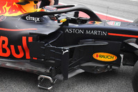 Red Bull Racing RB14, dettaglio del bargeboard