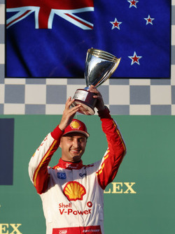 Podium: third place Fabian Coulthard, DJR Team Penske Ford