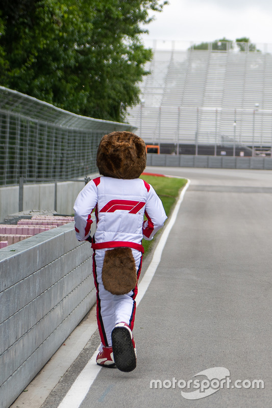 Vroum, the Canadian Grand Prix mascot