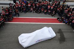 The new Scuderia Toro Rosso STR13 under covers