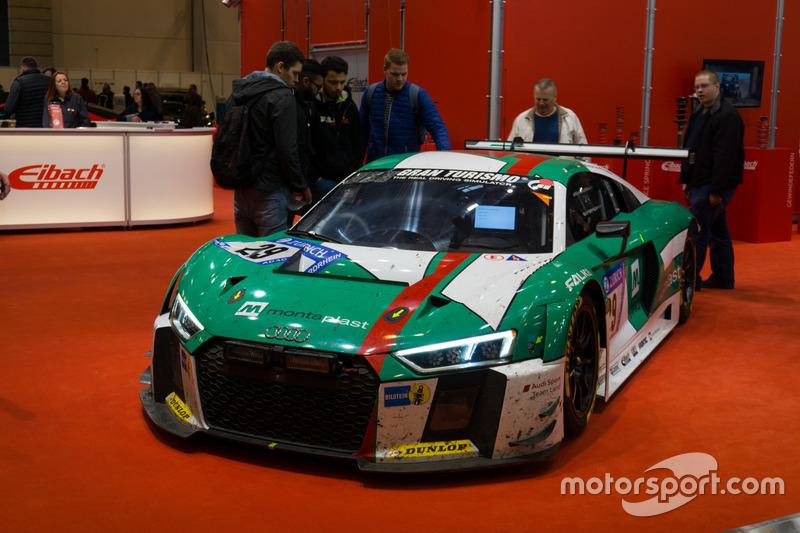Audi R8 van Land Motorsport, winnaar 24 uur Nürburgring