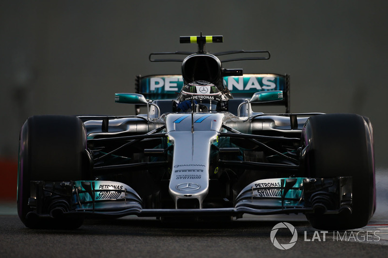 Valtteri Bottas, Mercedes AMG F1 W08 (1 abandono)