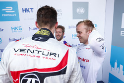 Sam Bird, DS Virgin Racing, Felix Rosenqvist, Mahindra Racing