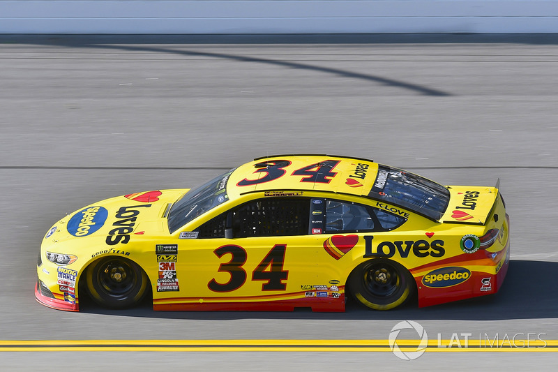 22. Майкл Макдауелл, No. 34 Front Row Motorsports Ford Fusion