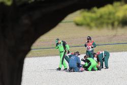 Kenan Sofuoglu, Kawasaki Puccetti Racing after crash