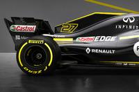 Детали задней части Renault RS18