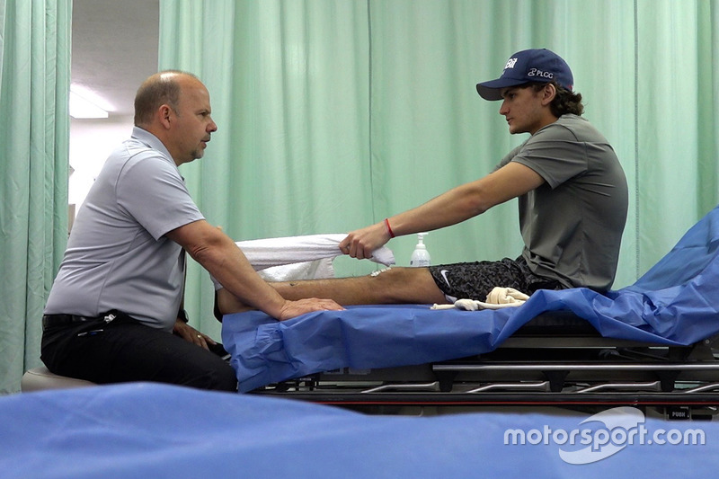 Pietro Fittipaldi saat rehabilitasi