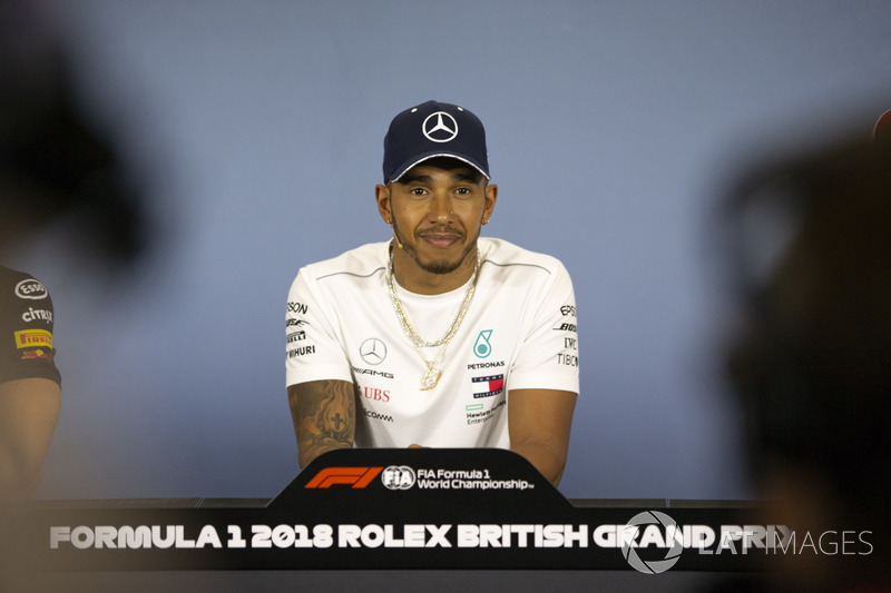 Lewis Hamilton, Mercedes-AMG F1 en conférence de presse