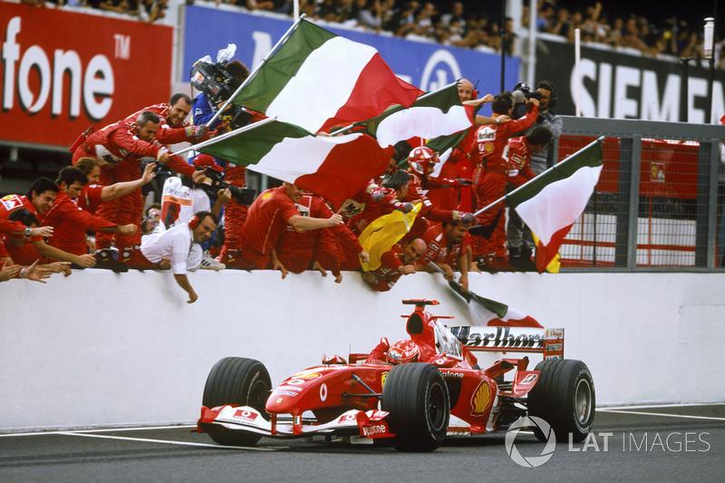 1º Michael Schumacher (91 victorias)