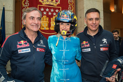 Карлос Сайнс, Peugeot Sport, Кристина Сифуэнтес, президент автономного сообщества Мадрид