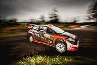 Mads Ostberg, Emil Axelsson, M-Sport Ford Fiesta WRC