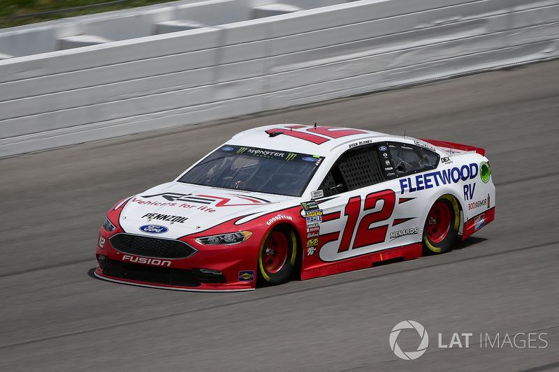 2. Ryan Blaney, Team Penske, Ford Fusion REV Group