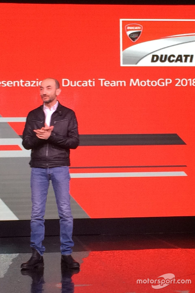 Claudio Domenicali, CEO Ducati
