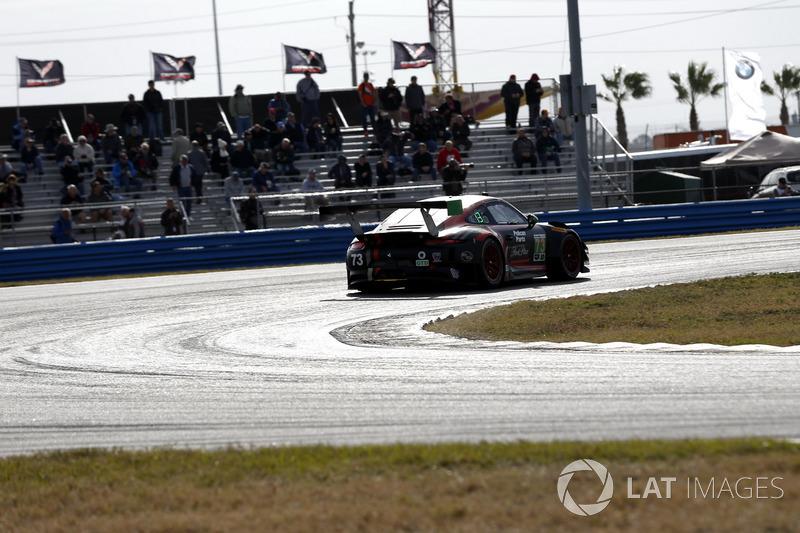 #73 Park Place Motorsports Porsche GT3 R, GTD: Патрік Ліндсі, Йорг Бергмайстер, Тім Паппас, Норберт Зайдлер