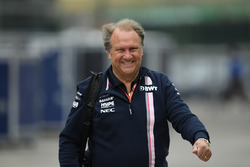 Robert Fernley, Force India F1 Team Deputy Team Principal