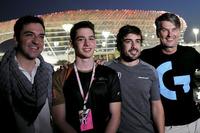 Carlos Rodríguez Santiago, Gamer & Fundador de G2 Esports, Fernando Alonso, McLaren y Cem Bolukbasi, G2 Esports Gamer