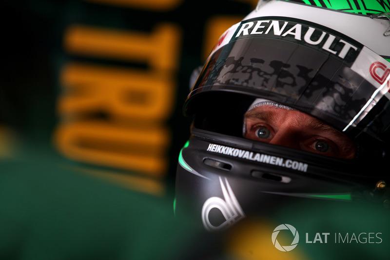Heikki Kovalainen, Team Lotus Renault T128
