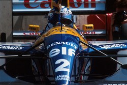 Ganador de la carrera  Alain Prost, Williams FW15C