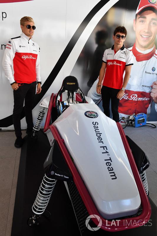 Marcus Ericsson, Sauber at the Monaco GP Challenge