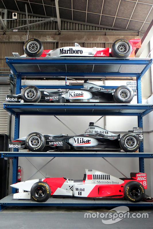 McLaren F1 wagens en Indycar