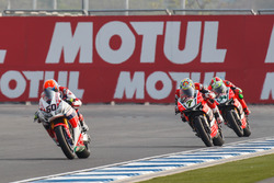 Михаэл ван дер Марк, Honda WSBK Team, Час Дэвис, Aruba.it Racing - Ducati Team и Давиде Джулиано, Ar