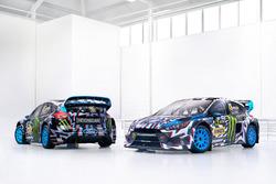 Die Autos von Andreas Bakkerud, Ken Block, Hoonigan Racing Division, Ford Focus