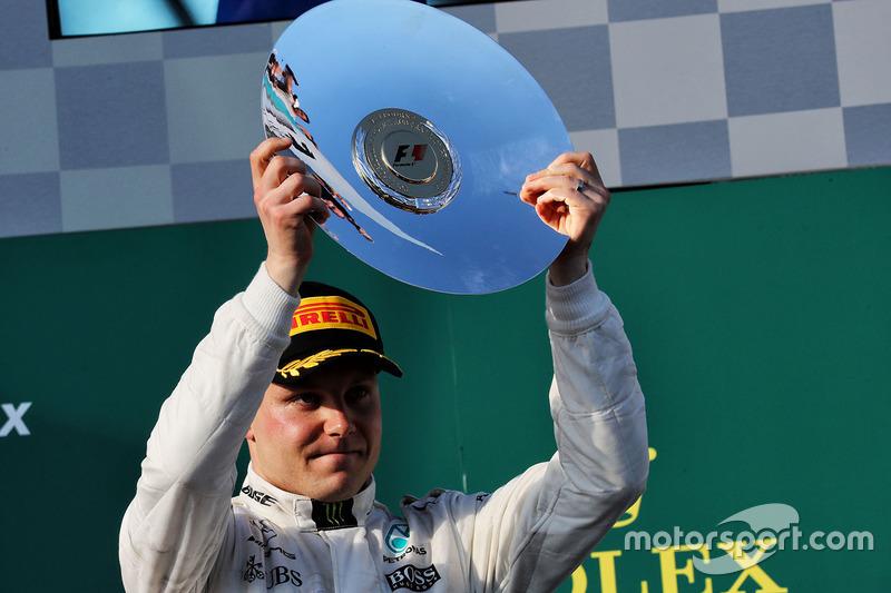 Podium: third place Valtteri Bottas, Mercedes AMG F1