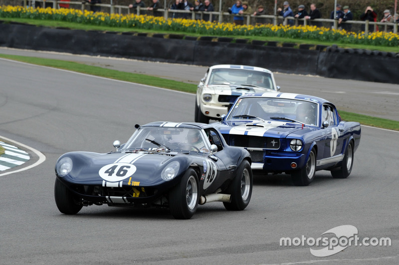 Graham Hilli Trophy  Ian Burford Cheetah