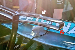 Mercedes AMG F1 W08 T wing