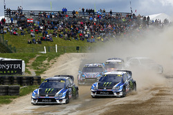 Petter Solberg, PSRX Volkswagen Sweden, VW Polo GTi, Johan Kristoffersson, Volkswagen Team Sweden, VW Polo GTi