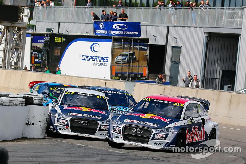 Toomas Heikkinen, EKS RX Audi S1, Mattias Ekström, EKS RX Audi S1
