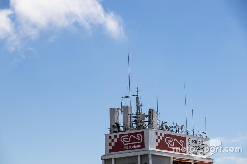 Башня центра управления гонкой