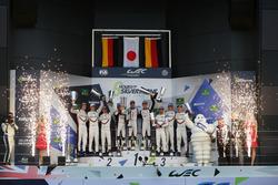 Podyum: Yarış galibi #8 Toyota Gazoo Racing Toyota TS050 Hybrid: Anthony Davidson, Sébastien Buemi, Kazuki Nakajima, 2. #2 Porsche Team Porsche 919 Hybrid: Timo Bernhard, Earl Bamber, Brendon Hartley, 3. #1 Porsche Team Porsche 919 Hybrid: Neel Jani, Andre