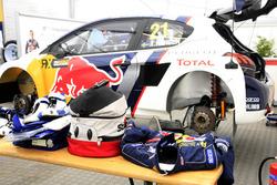 La voiture de Timmy Hansen, Team Peugeot-Hansen, Peugeot 208 WRX