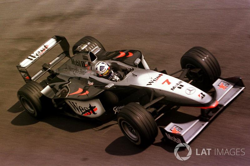 10: David Coulthard: 164 grandes premios (el 66,67% de los disputados)