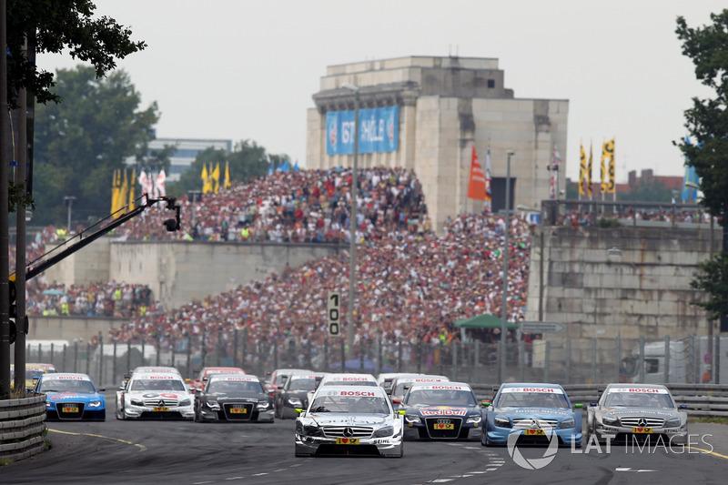 Ralf Schumacher, Laureus AMG Mercedes C-Klasse, Jamie Green, Junge Sterne AMG Mercedes C-Klasse, Bruno Spengler, Mercedes-Benz Bank AMG C-Klasse