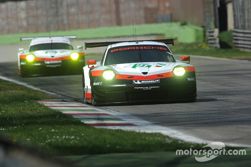 #91 Porsche Team Porsche 911 RSR: Ріхард Літц, Фредерік Маковєцкі, #92 Porsche Team Porsche 911 RSR: Мікаель Крістенсен, Кевін Естр