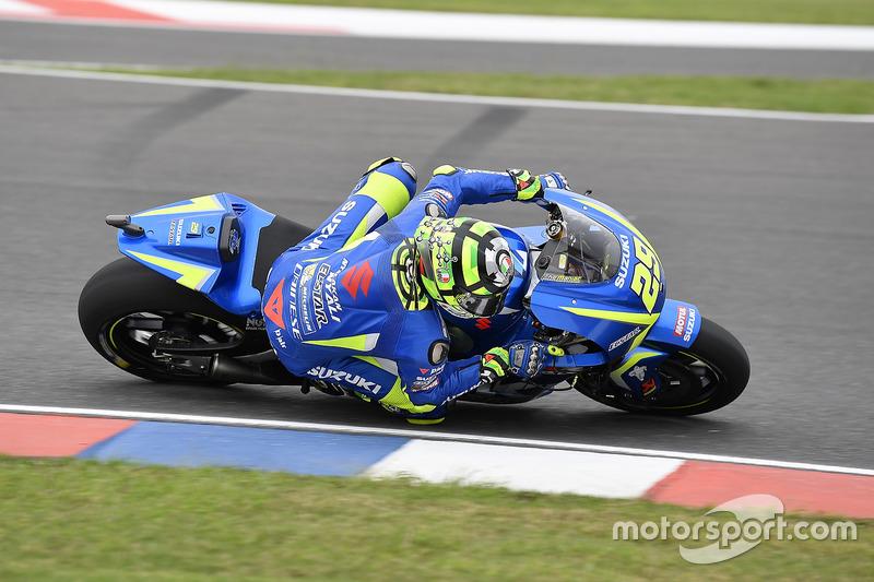 16. Andrea Iannone, Team Suzuki MotoGP