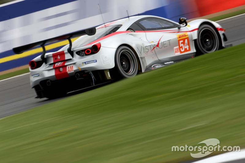Ausfall: #54 Spirit of Race, Ferrari 488 GTE