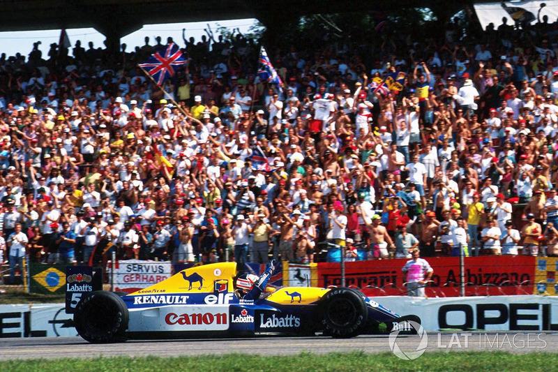 GP Deutschland: Platz 1
