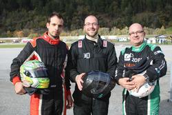 Philip Egli, Marcel Maurer, Jean-Marc Salomon, podio