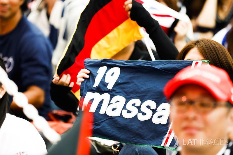 Support for Felipe Massa, Williams