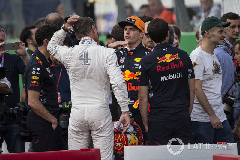 David Coulthard, Channel Four TV Commentator, Max Verstappen, Red Bull Racing