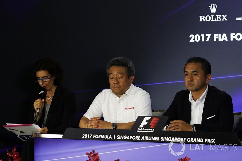 Masashi Yamamoto, Honda-Chef, Katsuhide Moriyama, Honda